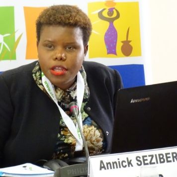 Annick Sezibera, Secrétaire exécutive, CAPAD, Burundi