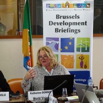 Katharine Downie, Chef Assurance qualité des données & Innovation, Worldvision, Somalie