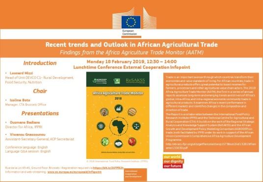 Tendances récentes et perspectives du commerce agricole africain
